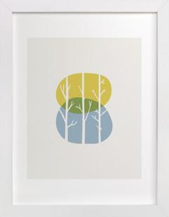 Nature Balance  Art Print