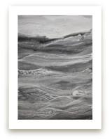rhythm of grey 2 Wall Art Prints