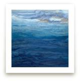 emerald sea Wall Art Prints