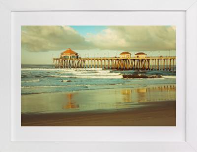 Huntington Beach Surf Pier  Art Print