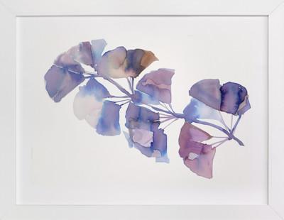 SOFTLY GINGKO  Art Print