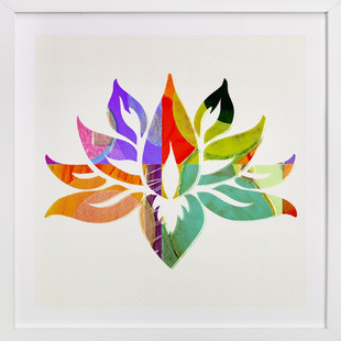 Lovely Lotus  Art Print
