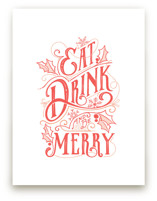 Eat, Drink and be Merry... by GeekInk Design