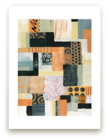 Urban Quilt II by Laura Bolter Design