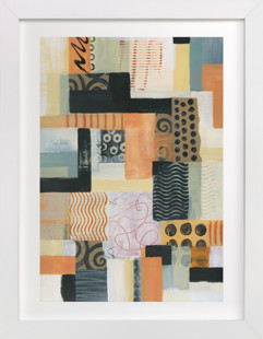 Urban Quilt II  Art Print