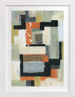 Urban Quilt I  Art Print