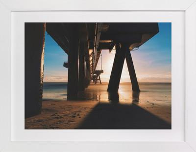 Venice Beach Rays  Art Print