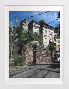 Suburbs of Santa Teresa  Art Print