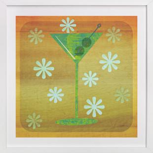 Martini Hour  Art Print