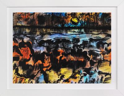 Moonlight Mile  Art Print