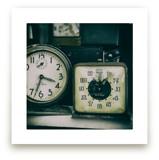 Two Clocks by Ann Gardner
