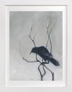 Priceville Crow  Art Print