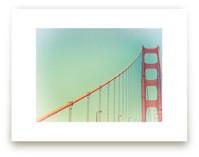 Soft Golden Gate by Mary Ann Glynn-Tusa