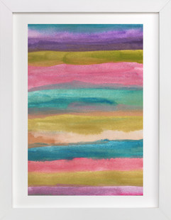 painted abstract1  Art Print