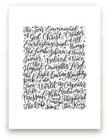 All the Names of Jesus by Laura Bolter Design