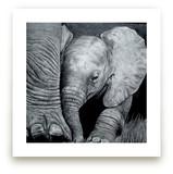 Mommy's Baby Elephant