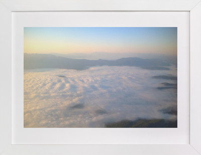 Morning Over Truckee  Art Print