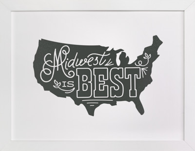 Midwest is Best  Art Print