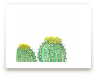 Two Happy Cacti by TweetSweet