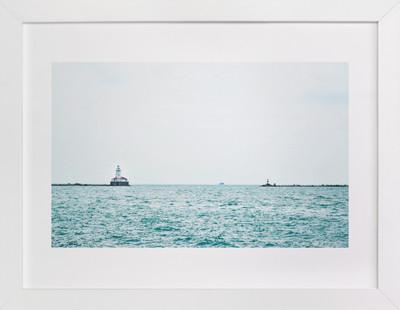 Minimal Lighthouse Art Print