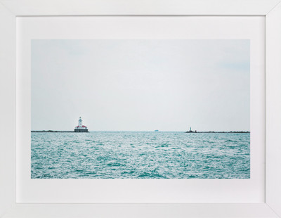 Minimal Lighthouse Art Print