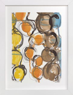 Circle Strands  Art Print