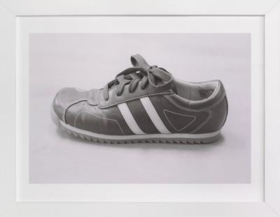 Sylvie's Shoe  Art Print