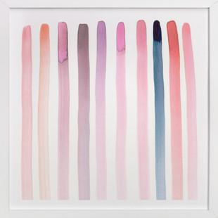 Autumn, No. 4 (Stripes)  Art Print