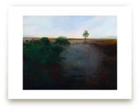 Misty Shoreline by Robert Deem