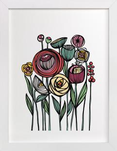Lisboa Floral  Art Print