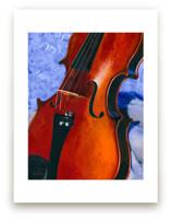 Grandfather's Violin by Robert Deem