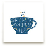Lettered Cup Of Tea by curiouszhi design