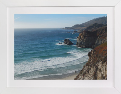 Big Sur North Coast  Art Print