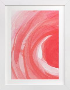 Swirls and Strokes  Art Print