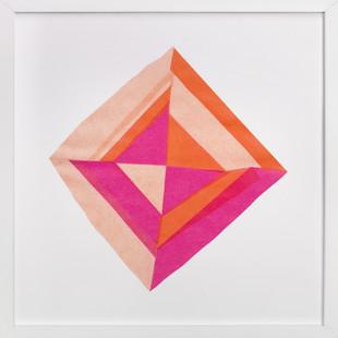 Modern Patchwork  Art Print