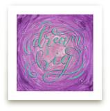 Dream Big Lettering by Elaine Stephenson