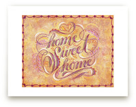 Home Sweet Home Letteri... by Elaine Stephenson