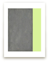 Urban Chartreuse Wall Art Prints