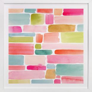 Color Movement II  Art Print
