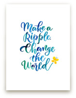 Make A Ripple by Laura Bolter Design