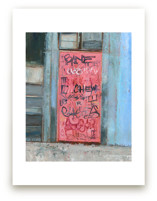 Pink Door by Hadas Tal