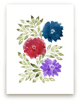 hand painted flowers_1M by aticnomar