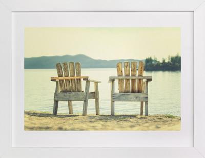 Sit For Awhile  Art Print