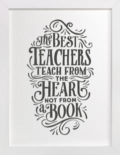 Best Teacher  Art Print