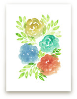 hand painted flowers_1J by aticnomar