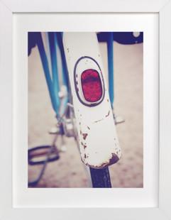 Vintage Bike Back Art Print