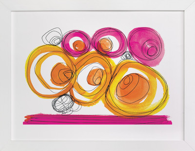 Whirlpools  Art Print