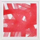 Red Ribbons Art Print