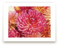Anemone looking Dahlias by A MAZ Design