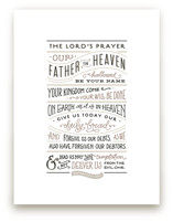 The Lord's Prayer by Jennifer Wick